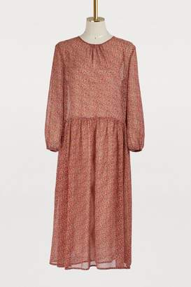 Vanessa Bruno Long-sleeved midi dress