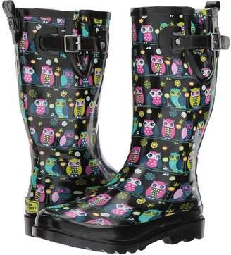 Western Chief Owl Branch Women's Rain Boots