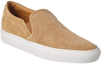Common Projects Men's Slip On In Suede Sneaker