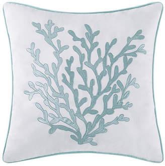 "Pem America Oceanfront Resort Cove Seafoam 18"" Square Decorative Pillow Bedding"