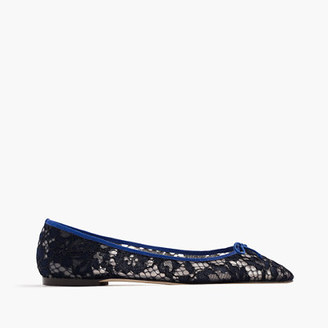 Gemma flats in lace $118 thestylecure.com