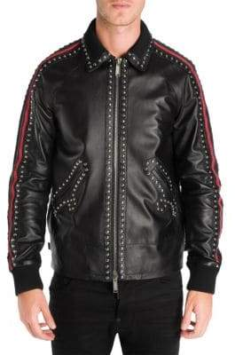 DSQUARED2 Sports Leather Jacket