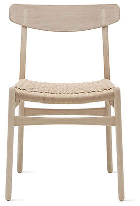 Design Within Reach Carl Hansen & Sn CH23 Side Chair, Soaped Oak at DWR