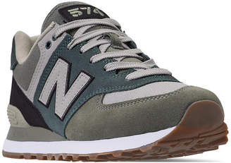 New Balance Men 574 Military Patch Casual Sneakers from Finish Line