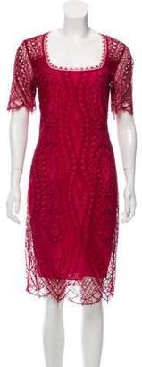 Emilio Pucci Lace Knee-Length Dress