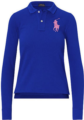 Polo Ralph Lauren Skinny Fit Big Pony Polo $115 thestylecure.com