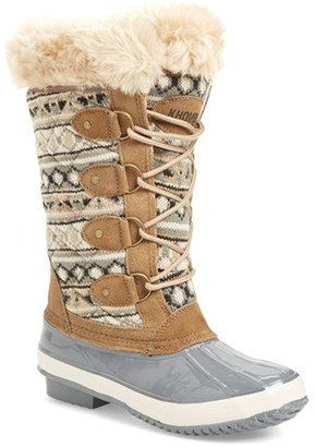 Women's Khombu Andie Waterproof Boot $128.95 thestylecure.com