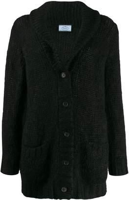 Prada shawl collar cardigan