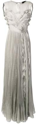 Irina Schrotter ruffle maxi dress