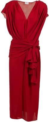 Magda Butrym Wide Sash Dress