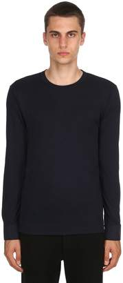 Extra-Soft Lyocell Long Sleeve T-Shirt