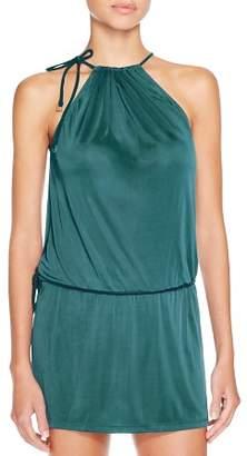 Cia.Maritima Drawstring Dress Swim Cover-Up