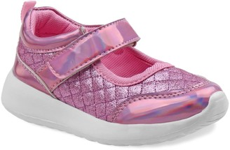 Laura Ashley Girls' Glitter High Top Sneaker