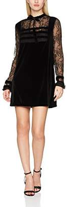 Fornarina Women's Laure Party Dress, (Black 00), S