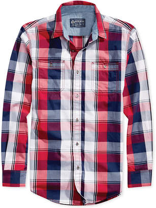 American Rag Men's American Plaid Shirt
