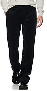 Margaret Howell Men's Wide-Wale Corduroy Straight Trousers - Navy