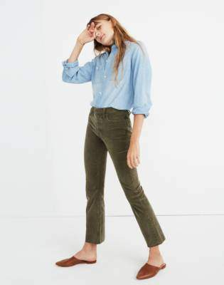 Tall Cali Demi-Boot Jeans: Corduroy Edition
