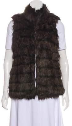 MICHAEL Michael Kors Faux Fur Short Vest