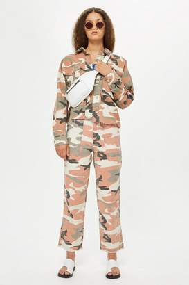 Topshop Clay Camouflage Trousers