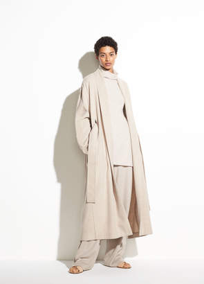 Wool Cardigan Coat