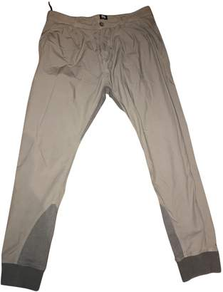 Dolce & Gabbana Grey Synthetic Trousers