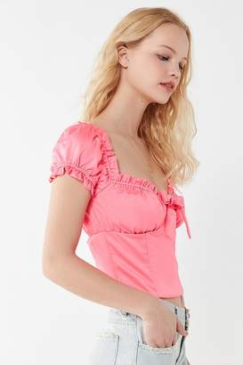 I.AM.GIA Naomi Ruffle Bustier Top