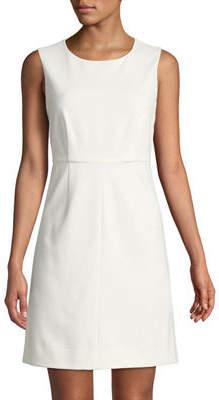 Diane von Furstenberg Carrie Crewneck Sheath Dress