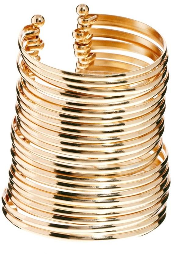 Asos Multi Bar Cuff Bracelet