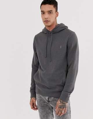 AllSaints hoodie in charcoal