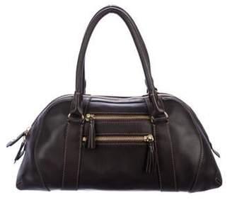 Loro Piana Leather Handle Bag Brown Leather Handle Bag
