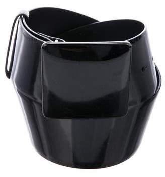 Giambattista Valli Patent Leather Hip Belt
