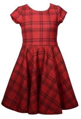 Iris & Ivy Girl's Plaid Skater Dress