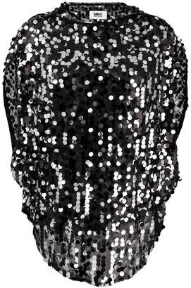 MM6 MAISON MARGIELA sequin-embellished top