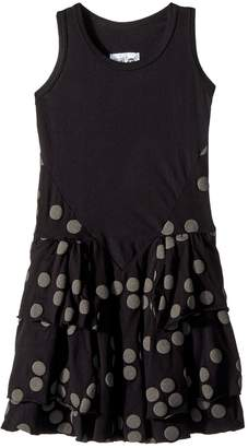 Nununu Braille Layered Dress Girl's Dress