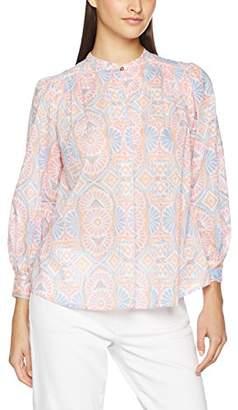 Antik Batik Women's Caliste 3/4 Sleeve Shirt, Rose (Pink), 8 (XS) (Manufacturer Size: 38/S)