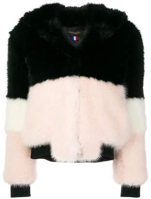 La Seine & Moi Emma faux fur coat