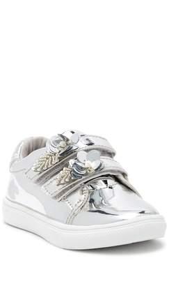 Nicole Miller Hi-Shine Metallic Sequin Sneaker (Toddler)