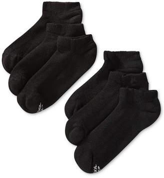 Hanes Men's 6-Pk. X-Temp No-Show Socks