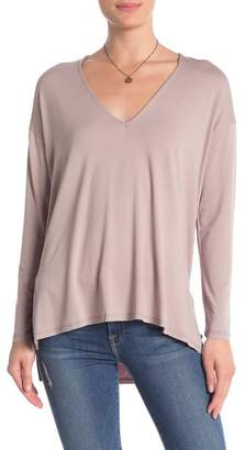 Double Zero Dolman Sleeve V-Neck Top