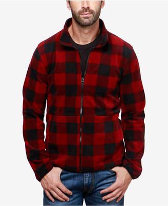 Lucky Brand Men's Buffalo Plaid Lined Shirt-Jacket