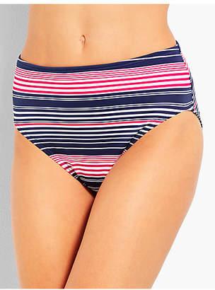 Talbots Swim Brief-Fresh Stripe