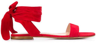 Gianvito Rossi Leather Flat Sandals