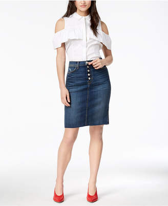 Hudson Remi High-Rise Pencil Skirt