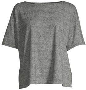 Eileen Fisher Ballet Neck Box Top