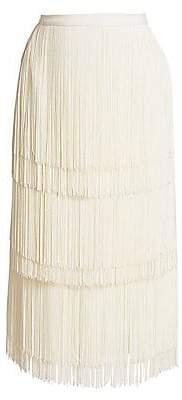Rachel Comey Women's Gyre Fringe Midi Skirt