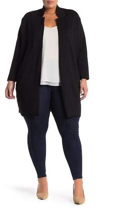 Philosophy Apparel Ponte Topper Jacket (Plus Size)