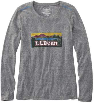 L.L. Bean L.L.Bean Back Cove Long-Sleeve Graphic Tee