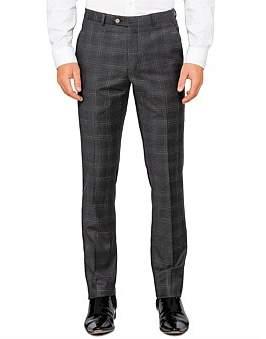 Ted Baker Fl Fr Wool Check Trouser