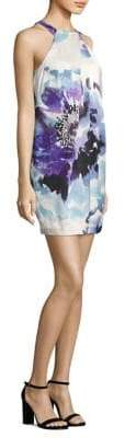 Trina Turk Felisha Halter Print Dress