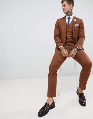 Harry Brown wedding slim fit super soft suit trousers